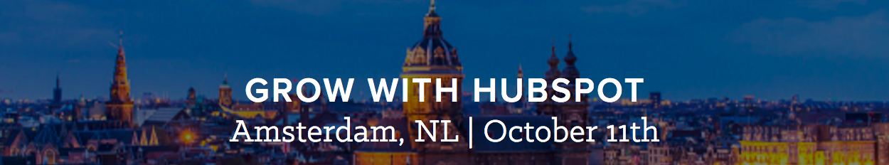 Grow with Hubspot Amsterdam